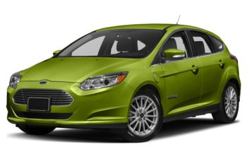 2018 Ford Focus Electric - Outrageous Green Metallic Tinted Clearcoat