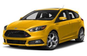 2018 Ford Focus ST - Triple Yellow Metallic Tri-Coat