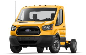 2018 Ford Transit-350 Cab Chassis - School Bus Yellow
