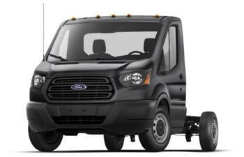 2018 Ford Transit-350 Cab Chassis - Shadow Black