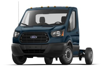 2019 Ford Transit-250 Cab Chassis - Blue Jeans Metallic