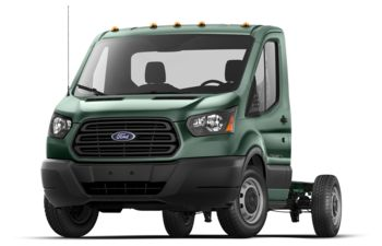2019 Ford Transit-350 Cab Chassis - Green Gem Metallic