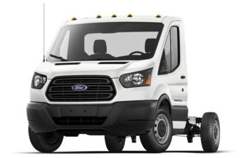 2018 Ford Transit-350 Cab Chassis - Oxford White