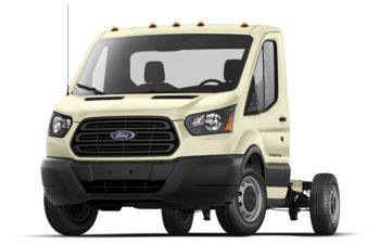 2018 Ford Transit-350 Cab Chassis - White Gold Metallic