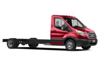 2018 Ford Transit-350 Cab Chassis - Race Red