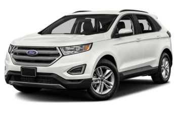 2018 Ford Edge - White Platinum Tri-Coat Metallic
