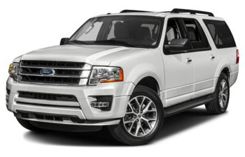 2017 Ford Expedition Max - White Platinum Metallic Tri-Coat