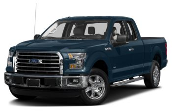 2017 Ford F-150 - Blue Jeans Metallic