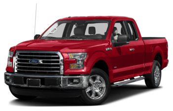 2017 Ford F-150 - Race Red
