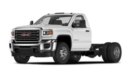 2021 GMC Sierra 3500HD Chassis Base