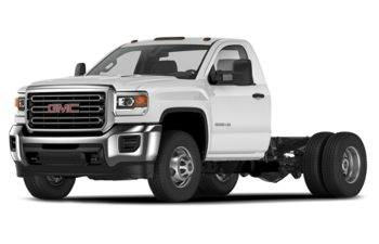 2020 GMC Sierra 3500HD Chassis - Summit White