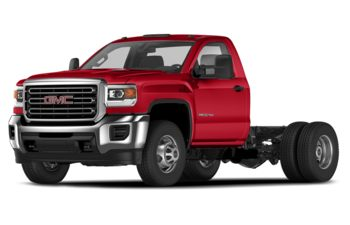 2019 GMC Sierra 3500HD Chassis - Cardinal Red