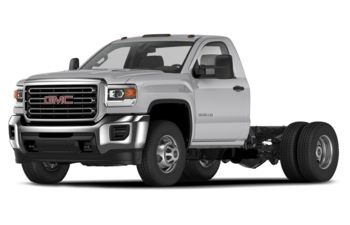 2020 GMC Sierra 3500HD Chassis - Quicksilver Metallic