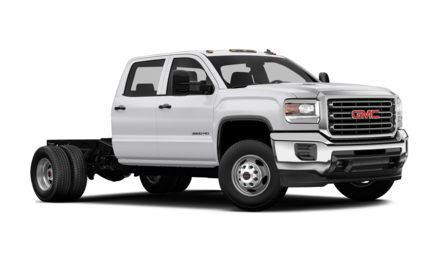 2018 GMC Sierra 3500HD Chassis Base