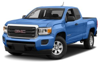 2018 GMC Canyon - Marine Blue Metallic