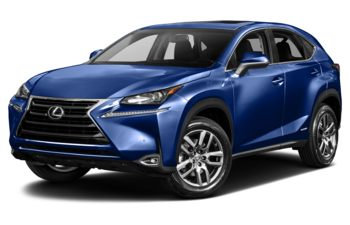 2017 Lexus NX 300h - Blue Vortex Metallic
