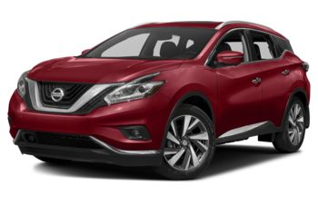 2017 Nissan Murano - Cayenne Red Metallic