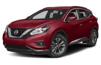 2018 Nissan Murano - Cayenne Red Metallic