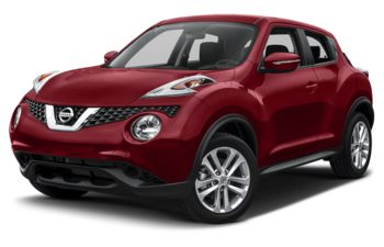 2017 Nissan Juke - Cayenne Red Metallic