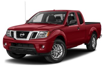 2017 Nissan Frontier - Lava Red Pearl-Mica Metallic