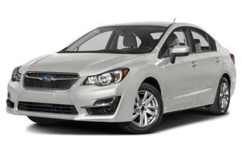 2016 Subaru Impreza - Crystal White Pearl