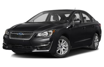 2016 Subaru Impreza - Crystal Black Silica