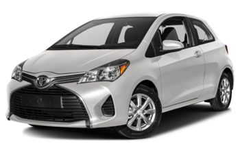 2017 Toyota Yaris - Alpine White