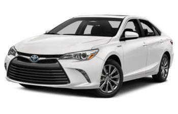 2017 Toyota Camry Hybrid - Alpine White