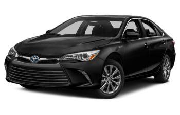 2017 Toyota Camry Hybrid - Attitude Black Metallic