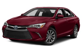 2017 Toyota Camry Hybrid - Ruby Flare Pearl