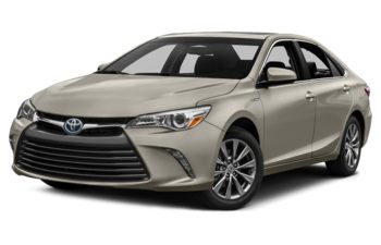 2017 Toyota Camry Hybrid - Creme Brulee Mica
