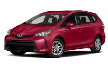 2017 Toyota Prius v - Absolutely Red
