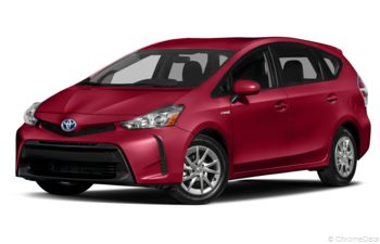 2018 Toyota Prius v - Salsa Red Pearl