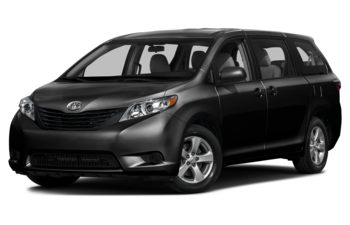 2017 Toyota Sienna - Midnight Black Metallic