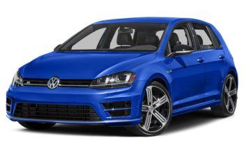 2017 Volkswagen Golf R - Lapiz Blue Metallic