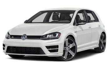 2017 Volkswagen Golf R - Oryx White Pearl