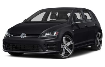 2017 Volkswagen Golf R - Deep Black Pearl