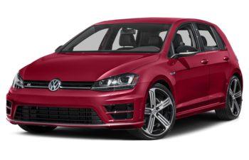 2017 Volkswagen Golf R - Tornado Red