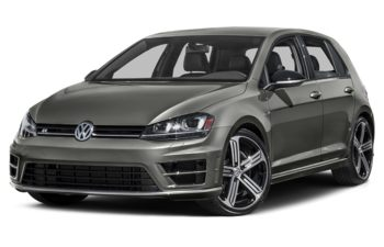 2017 Volkswagen Golf R - Limestone Grey Metallic