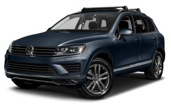 2017 Volkswagen Touareg - Moonlight Blue Pearl