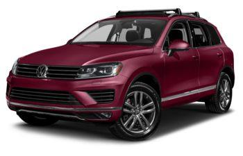 2017 Volkswagen Touareg - Malbec Red Metallic