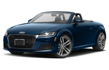 2018 Audi TT - Scuba Blue Metallic/Black Roof