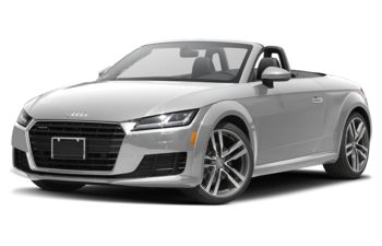 2018 Audi TT - Glacier White Metallic/Black Roof