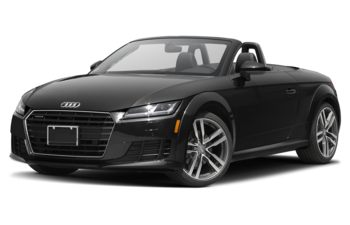 2018 Audi TT - Brilliant Black/Black Roof