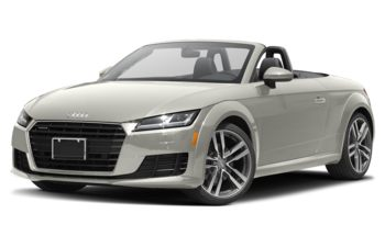 2018 Audi TT - Ibis White/Black Roof