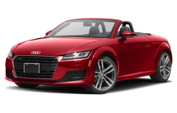 2018 Audi TT - Tango Red Metallic/Black Roof