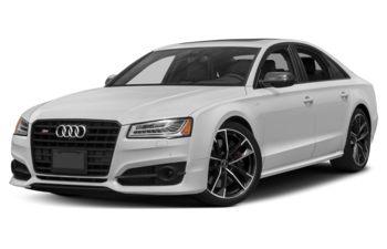 2018 Audi S8 - Glacier White Metallic