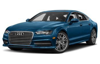 2018 Audi A7 - Sepang Blue Pearl Effect