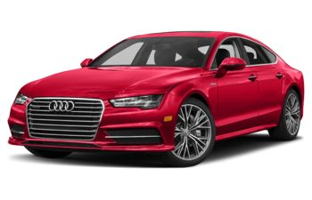 2018 Audi A7 - Misano Red Pearl Effect