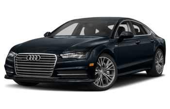 2018 Audi A7 - Moonlight Blue Metallic